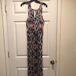 Parker Long multi colored dress